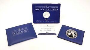 1999-Australian-1-999-Fine-Silver-Kookaburra-Proof-Of-Issue-Coin-w-Box-COA