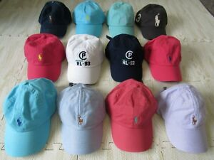 POLO-RALPH-LAUREN-MENS-PONY-BASEBALL-CAP-HAT-ADJUSTABLE-NWT
