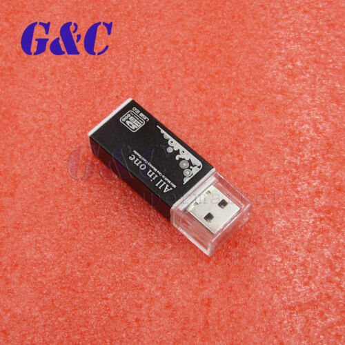 5 Colors All in 1 USB 2.0 Multi Memory Card Reader For Micro SD SDHC TF M2