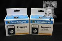 10 Lighthouse Everslab Holders 41mm Casino Medallion Token Graded Coin Case Slab