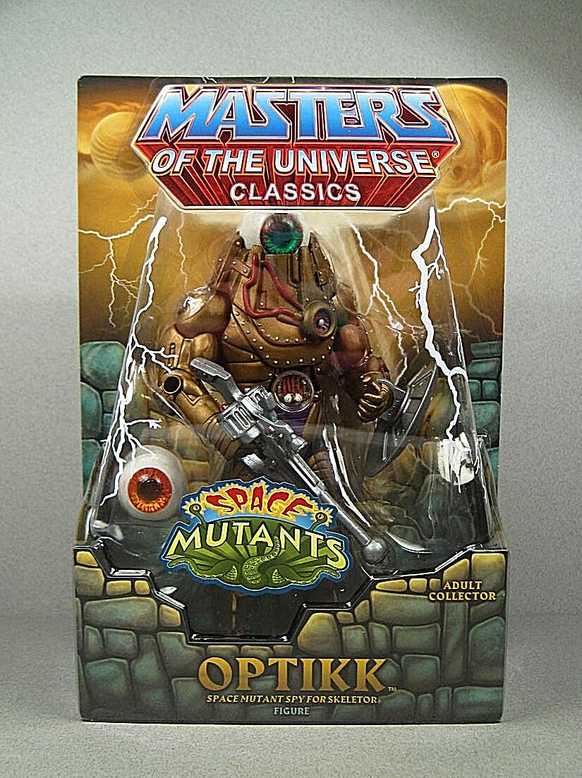 MASTERS OF THE THE THE UNIVERSE Classics__OPTIKK action figure_Exclusive Limited Edition 41f889