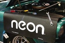 Dodge Black Neon car mechanics fender cover paint protector vintage style