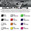 4x 4Runner Door Handle Decal Sticker Toyota TRD Off Road Premium SR5 Limited
