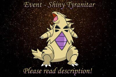 Shiny Tyranitar Event - Pokemon X/Y OR/AS S/M US/UM Sword ...