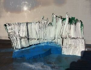WHITE CHALK CLIFFS SCULPTURE DOVER TO EASTBOURNE BY ARTIST NIGEL WATERS SIGNED - Honiton, United Kingdom - WHITE CHALK CLIFFS SCULPTURE DOVER TO EASTBOURNE BY ARTIST NIGEL WATERS SIGNED - Honiton, United Kingdom