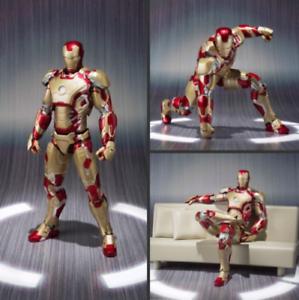 IRON-MAN-3-MARK-42-MK42-Action-Figure-Model-Statue-Toy-Children-Kids-Gift