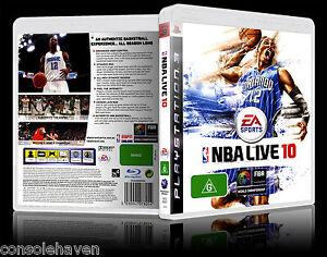 (PS3) NBA Live 10 / 2010 (G) (Sports: Basketball) Guaranteed, VGC with Booklet
