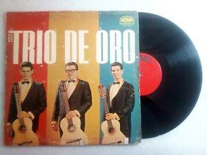 El Trio de Oro Lacomba  Blanco Torres REMO LPR-1515 VinylLP VG+ 1965 LP#0784