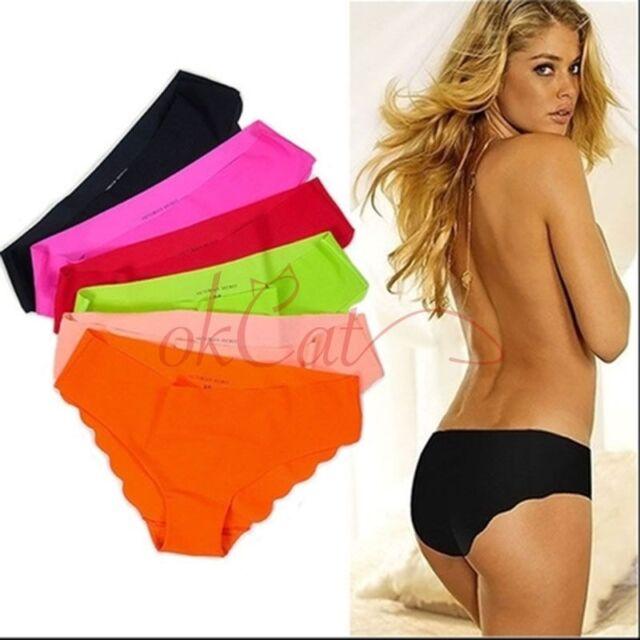 Women's Girl Seamless Briefs Hipster Underwear Panties Underpants Lingerie Lot