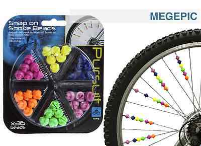 134pcs Kids Girls Boys Cute Spoke Beads Bike Bicycle Cycle Wheel Decoration