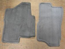 OEM  2004-06 Tahoe Yukon Suburban Front Carpet Floor Mats Med Dark Pewter New GM