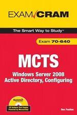 MCTS 70-640 Exam Cram: Windows Server 2008 Active Directory