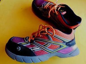 Wolverine-Jet-Stream-10693-Womens-6-5-M-Multi-Color-Composite-Toe-Work-Shoes