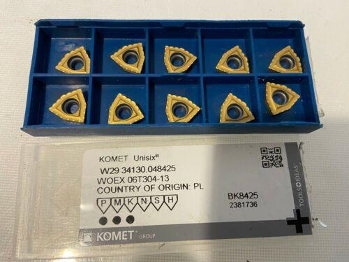 10 x Komet Unisix W29 34130.048425  Wendeschneidplatten