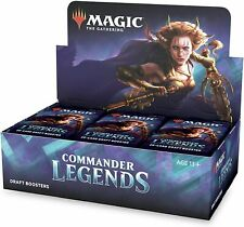 Commander Legends Draft Booster Box Sealed Magic the Gathering Pre-Order Nov. 20