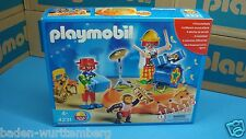 Playmobil 4231 circus series clowns musical band rare for collectors NEW 122