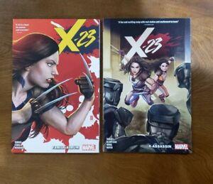 X-23 Vol. 1 & Vol. 2 SET TPB GN SC OOP 2019 Marvel Comics Mariko Tamaki 1st Ed.