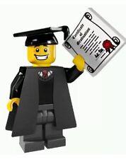 LEGO MINIFIGURE MINIFIG SERIES 5 SCHOOL GRADUATE GRADUATION DIPLOMA 8805 CMF NEW