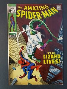 AMAZING-SPIDER-MAN-76-5-5-FN-UNPRESSED-MARVEL-SILVER-COMIC