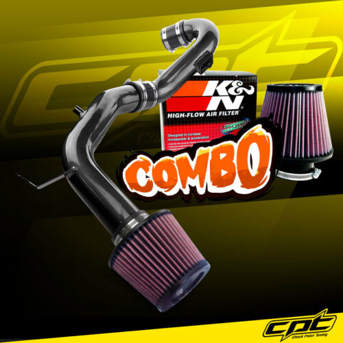 02-04 Ford Focus SVT 2.0L 4cyl Black Cold Air Intake K/&N Air Filter