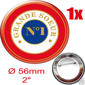 BADGE ROND [56mm] --GRANDE-SOEUR--N°1 qSIg5lAb-09090150-106330735