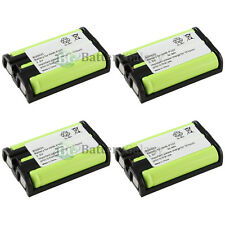 4 Cordless Phone Battery for Panasonic HHR-P107 HHRP107