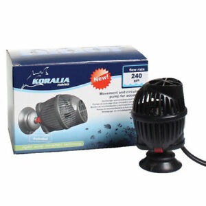 "Pumps (water) Punctual You Get 2 New Hydor Koralia 240 ""nano"" Aquarium Pump 240 Gph Hydroponic To Have A Unique National Style Pet Supplies"
