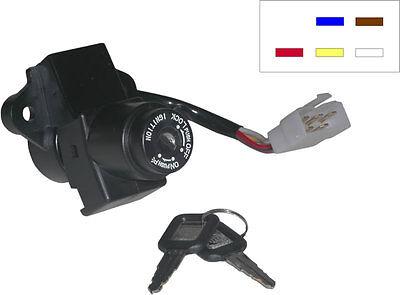 Ignition Switch 5 Wire Kawasaki ZZR 1100 ZX1100D4 1996