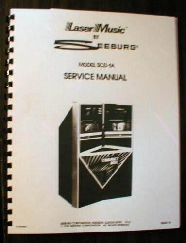 Seeburg Model SCD-1A Service-Parts-Installation Manual