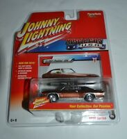 2016 Johnny Lightning Muscle Cars U.s.a. 1971 Pontiac Gto Brown 3 Release 1