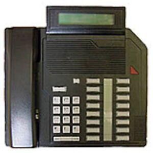 1-Refurbished-Black-Nortel-M2616D-Phone-Nortthern-Telecom-Meridian-Options