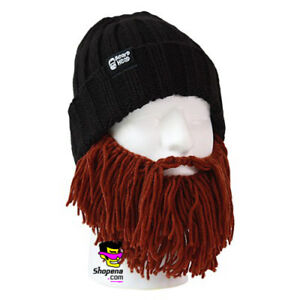 a21a61e5 Image is loading Beard-Head-Barbarian-Vagabond-Brown-Warm-Thermal-Winter-