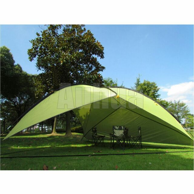 Outdoor Sun Shade Shelter Beach Canopy Camping Family Tent Portable Picnic Green