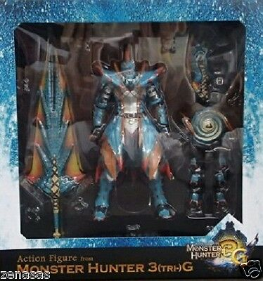 Used Capcom MONSTER HUNTER 3G Limited Lagiacrus Armor & Weapons From Japan