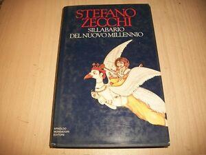 STEFANO-ZECCHI-SILLABARIO-DEL-NUOVO-MILLENNIO-MONDADORI-1993-PRIMA-EDIZIONE