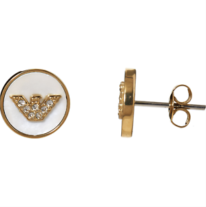 Emporio-Armani-Stud-Earrings-Gold-Tone-Logo-Branded-Gift-Boxed