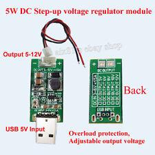 DC-DC Konverter  USB Step Up Boost Power Supply Module 5V to 5V-12V Adjustable