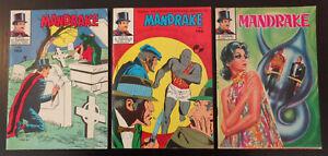 Mandrake (albi de il vascello) fumetti n.161,163,171 del 1970 - Italia - Mandrake (albi de il vascello) fumetti n.161,163,171 del 1970 - Italia