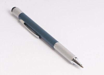 """Dolce Hama Stylus """"pencil"""" 2in1-con Matita Girevole, Argento/blu, Alluminio, Touch Pen-"""