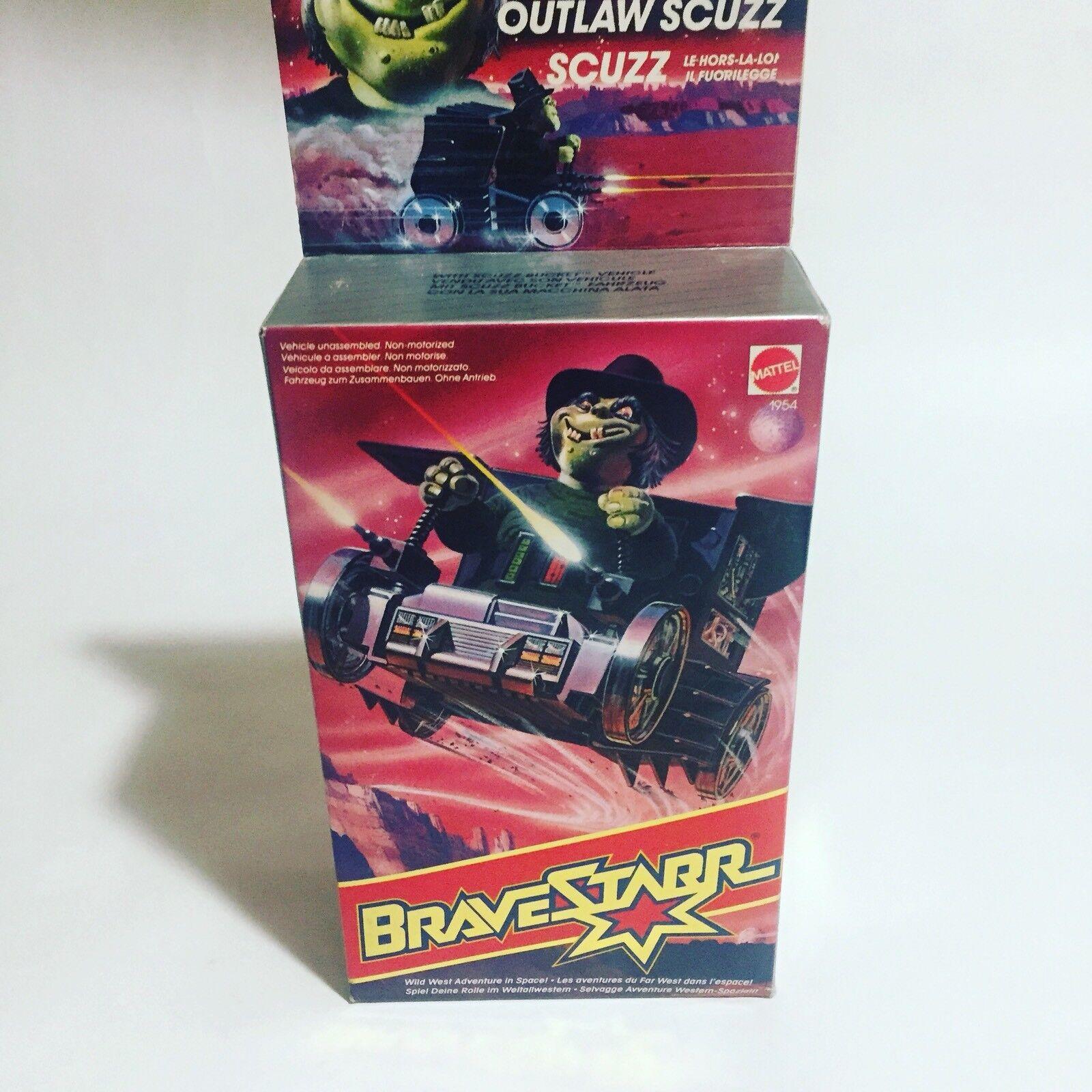 Bravestarr Mattel Outlaw Scuzz Scuzz Action Figure Mattel