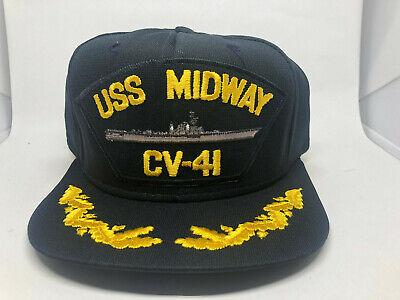 #1641 USS MIDWAY CV-41 Ballcap Cap Hat