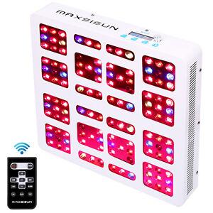 MAXSISUN-Timer-Control-600W-LED-Grow-Light-Dimmable-Full-Spectrum-Plant-Lenses