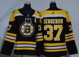 Image is loading Women-039-s-Boston-Bruins-Patrice-Bergeron-Black- 27b96de46