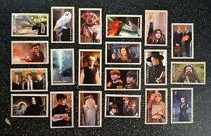 2013USA #4825-4844 Forever Harry Potter Souvenir Set of 20 Singles Mint NH