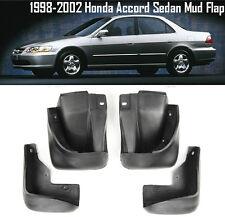 OE Front Rear set 4 Pcs Splash Mud Guards Flaps For 98-02 Honda Accord Sedan