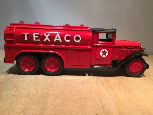 DIECAST BANK by ERTL #9330 1930 DIAMOND T TANKER TEXACO  #7 IN SERIES