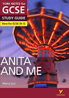 Anita and Me: York Notes for GCSE (9-1) by Steve Eddy (Paperback, 2016)