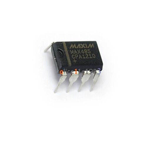 10pcs MAXIM MAX485CPA MAX485 DIP-8 RS-485/RS-422 Transceiver new