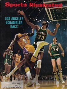 1972-4-24-Sports-Illustrated-magazine-Kareem-Abdul-Jabbar-Milwaukee-Bucks-VG