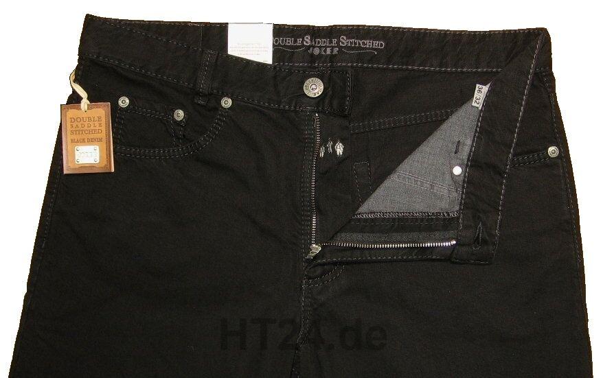 JOKER JEANS CLARK 2320 125  schwarz schwarz von von von W36 bis W42 Art. 2320-0125 972169